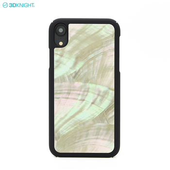 Fashion Beautiful Natural Real Seashell PC Hard Cell Phone Case For Iphone XR