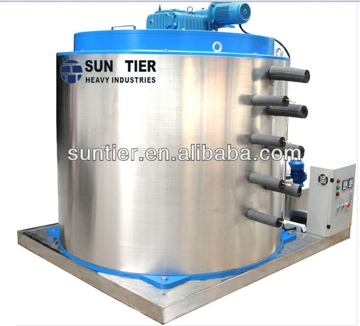 sun tier coffee shop equipment shaved ice machine vegetable fruit storage flake ice making machine