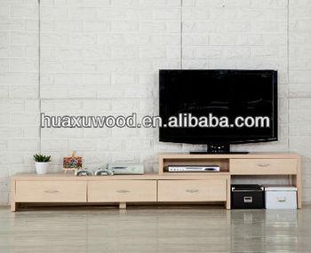 Modern minimalist retractable panel tv cabinet buy - Retractable tv cabinet living room furniture ...