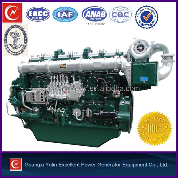 480-1200hp 6 cylinder marine engine for fishing vessels