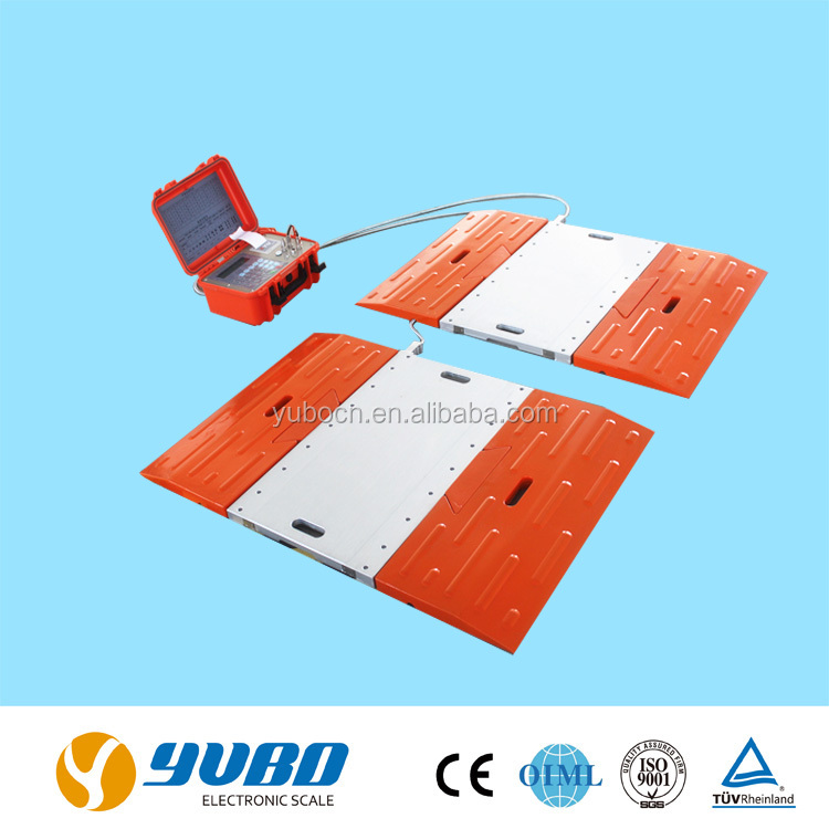 portable electronic truck axle weigh scale
