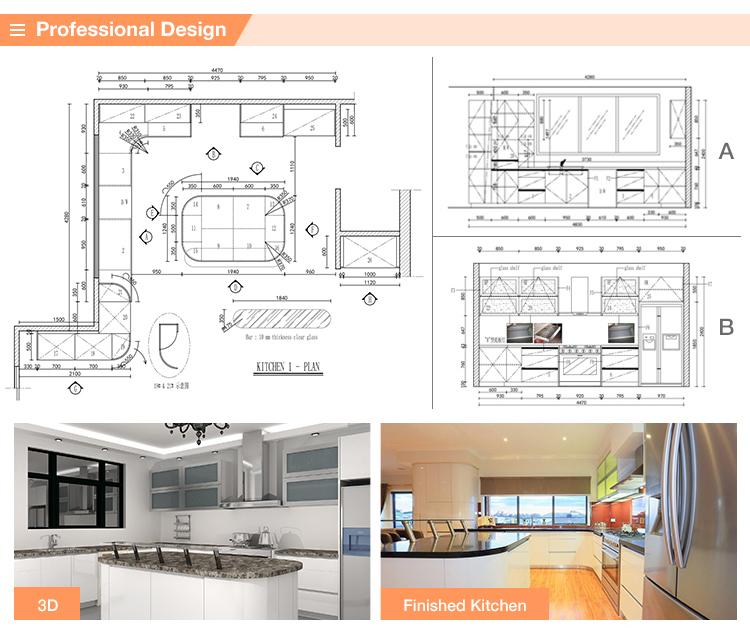 Newest Supreme Quality Modern Kitchen Designs Restaurant
