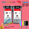 for canon pixma chip reset PG40 CL41 high profit margin products for canon ink cartridge