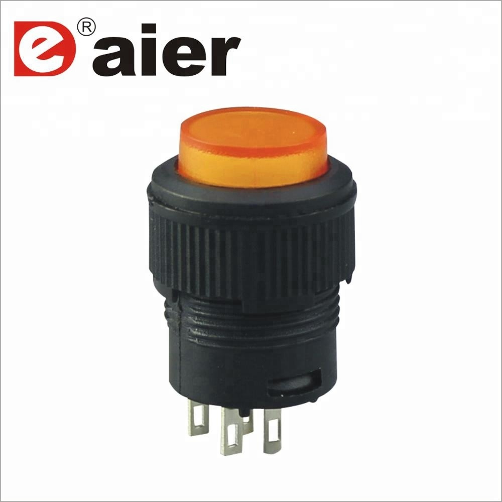16mm On Off Led Pushbutton Switch - Buy On Off Led Pushbutton Switch ...