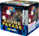 China supplier fireworks 25 shots consumer cake H125C