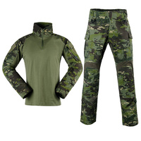 Military Uniform Shirts and Pants Sets Camouflage Tactical