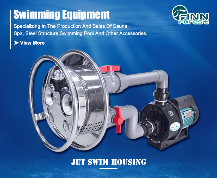 Counter Current Unit Jet Swimming Endless Pool Machine