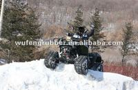 ATV/SUV rubber snowmobile tracks system / snow moto tracks kits