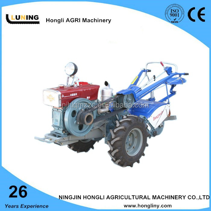Two wheel hand/walking tractor with rotovator & back seat for sales