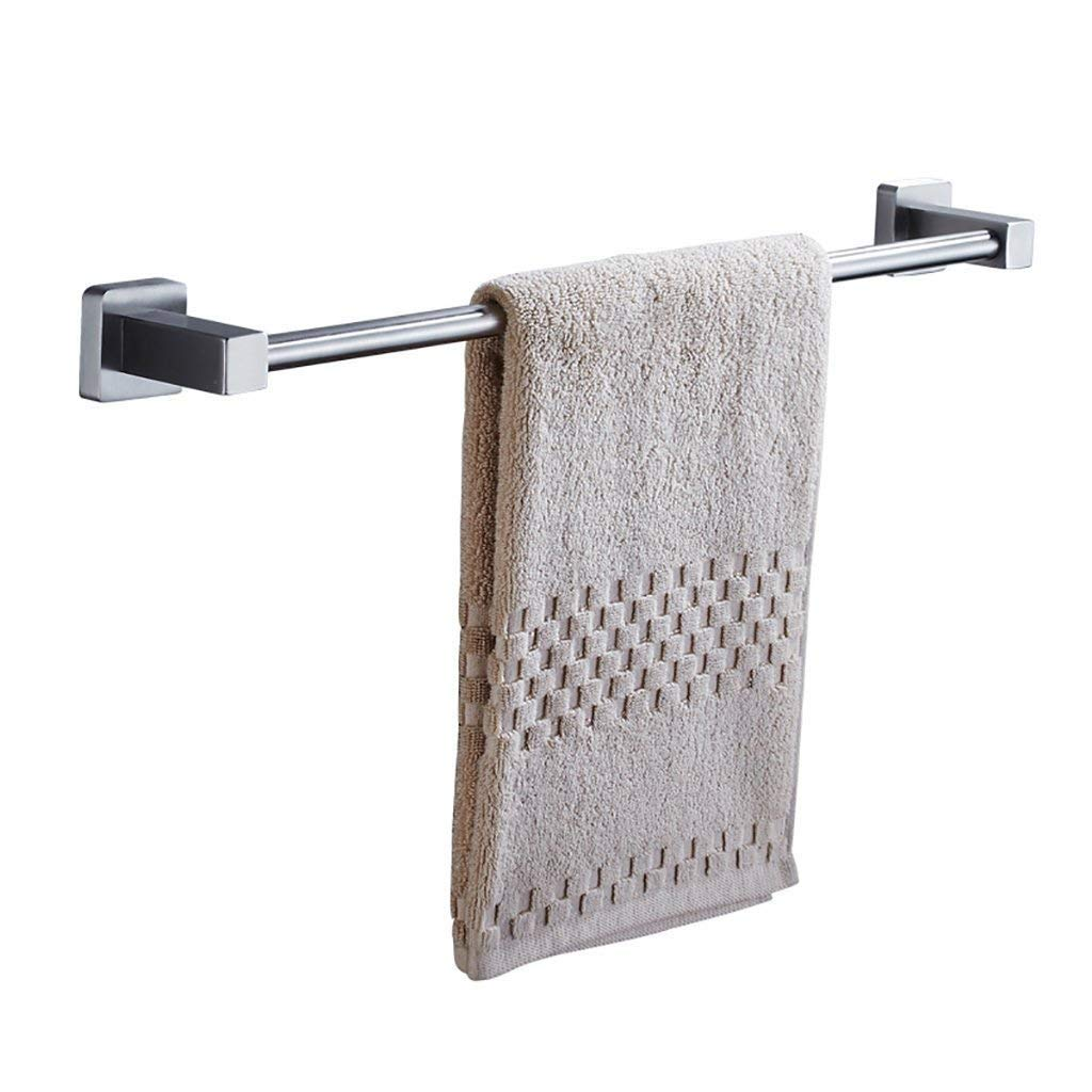EQEQ Bath Room Towel Rack Towel Rack Wall Mounting Wall Mounting Pole Stainless Steel Towel Bar Towel Rack Storage Rack Door Kitchen Towel