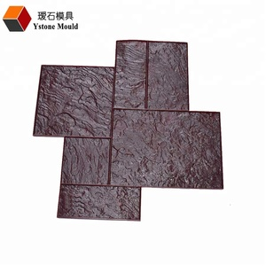 different types for concrete stamp mats concrete stamping mould