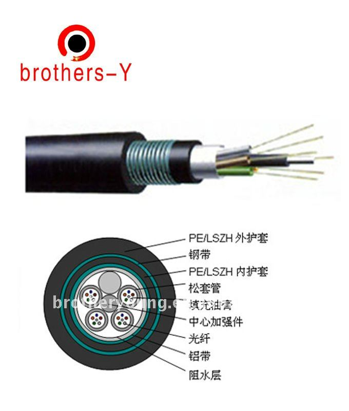 adss 24 core fiber optic cable