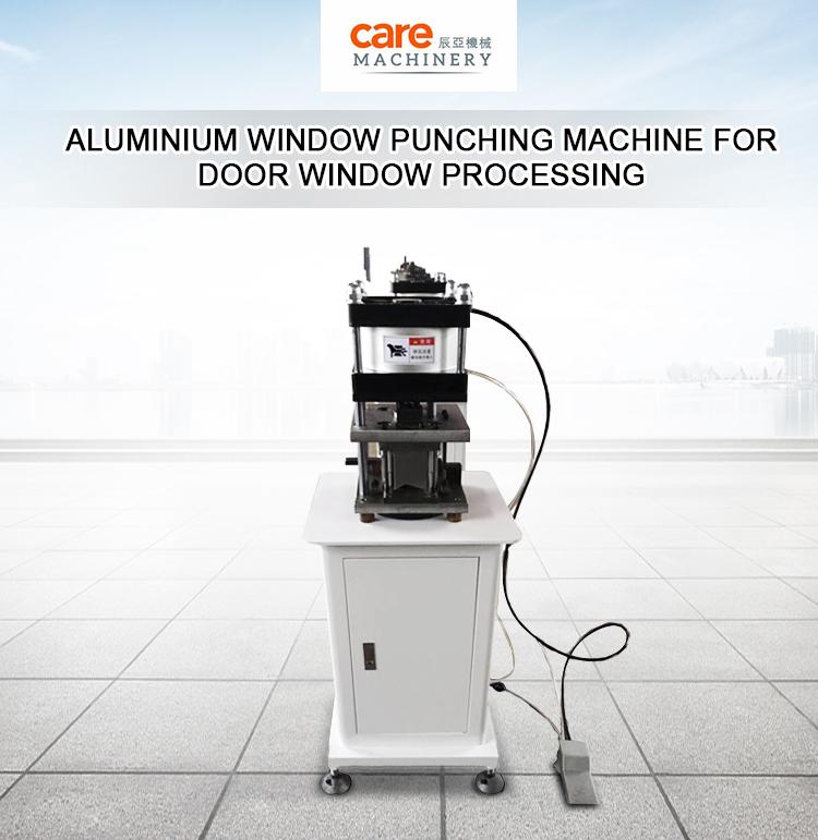 Aluminium Window Deur Frame Hardware Lock Ponsgereedschap