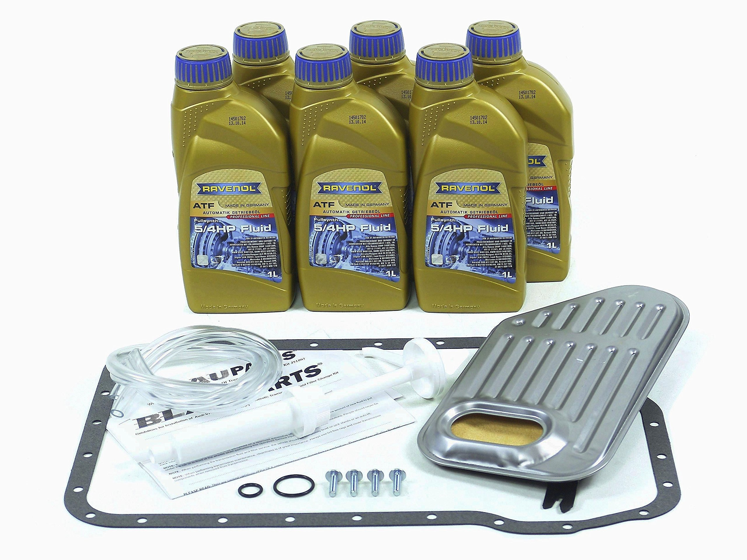 BLAU F2A1007-F VW Passat ATF Automatic Transmission Fluid Filter Kit - 1998-05 w/ 5 Speed Tiptronic