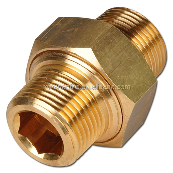 Copper pipe fittings union female connector buy pipe for Copper water pipe connectors