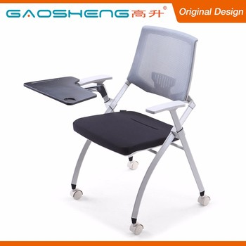 Student Chair With Tablet Arm/folding Chair With Tablet/conference Chair  With Writing Tablet
