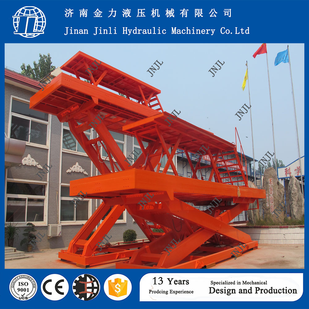 10 ton 12m custom-made hydraulic motorized projector scissor lift