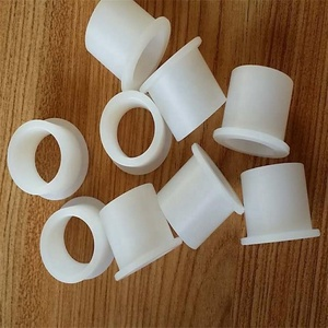 PA6 nylon sleeves insulating bush sleeve POM acetal flanged shaft jacket bushing washer bearing bush for bolts