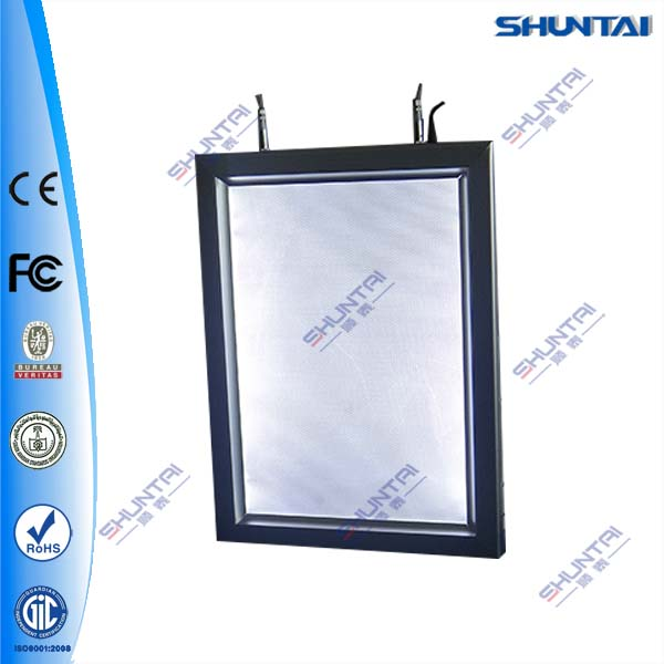 ceiling hanging led aluminum A2 lighting graphic frame