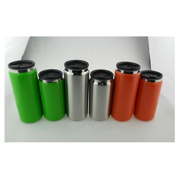 Hot Promotion Gift 300/400ml container Cans Cup Thermos Tumbler