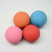 Customized Small Sponge Rubber Ball in Bulk for Promotion Rubber Toy Ball Hollow Rubber Ball