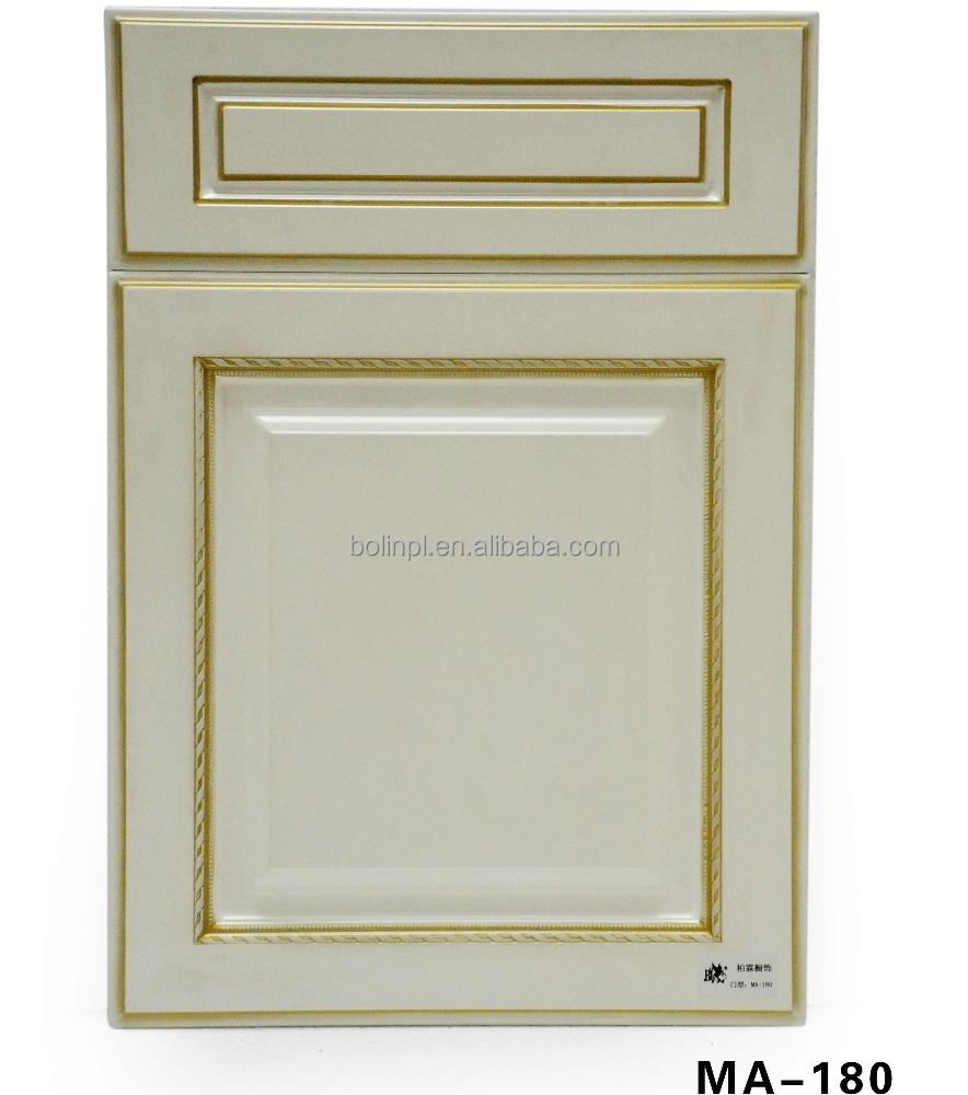 Pvc Kitchen Cabinet Doors: Classic Pvc Wordrobe Kitchen Cabinet Door