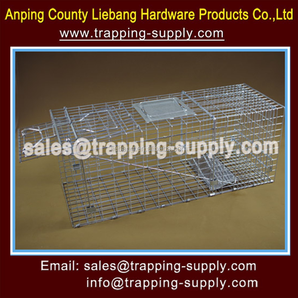 Low-Carbon Iron Wire Material and Welded Mesh Type Wire Cage Trap Rat Mouse Feral Cat Trap