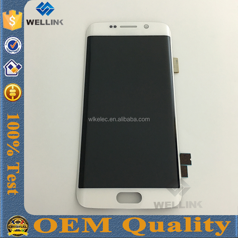 Original Lcd Display For Samsung S7 Edge Parts High Quality For ...