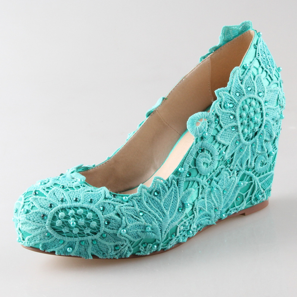 Cheap Turquoise Blue Shoes