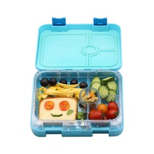 Premium quality 4 compartimenti stagni <span class=keywords><strong>bento</strong></span> lunch <span class=keywords><strong>box</strong></span> per bambini e adulti
