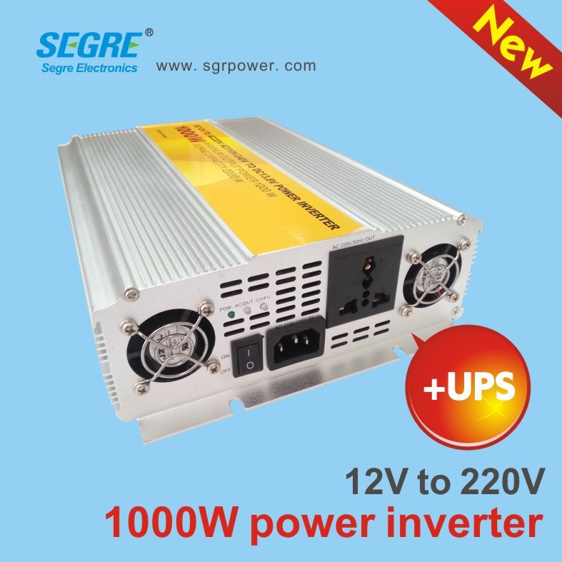 dc 12v <strong>ac</strong> 220v modified sine wave inverter 1000w power inverter with charger ups function
