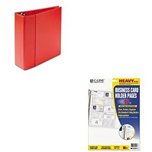 Cheap heavy business card stock find heavy business card stock get quotations kitave79584cli61217 value kit avery heavy duty binder with one touch ezd rings colourmoves
