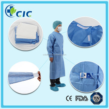 2015 fashionable surgical wholesale reinforced top drape and gowns
