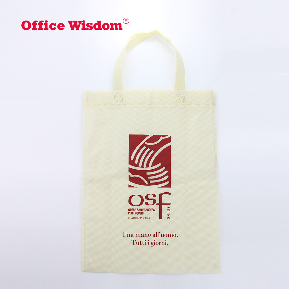 low moq Customized shopping tote bag reusable eco friendly High Quality promotional gift New Type Non-woven Bag