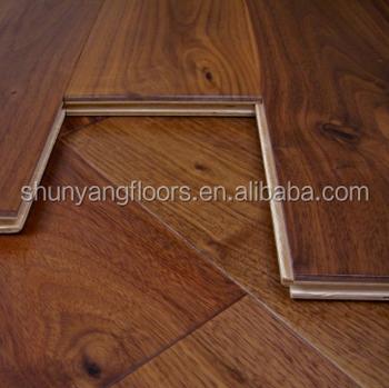 Good Quality Factory Price Black Walnut Engineered Wood Flooring Provide Sample