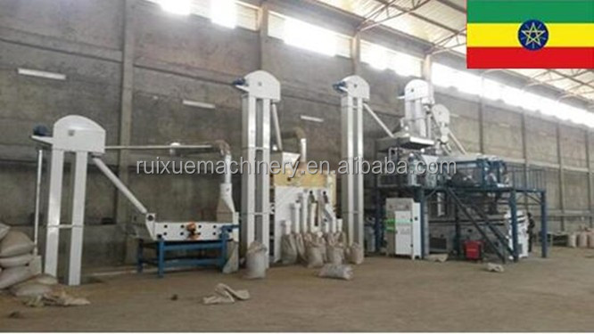 Agricultural Commodities Cleaning machine Plant for sesame wheat maize bean rice