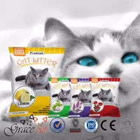 Natural clay pet accessories cat litter sand onlie