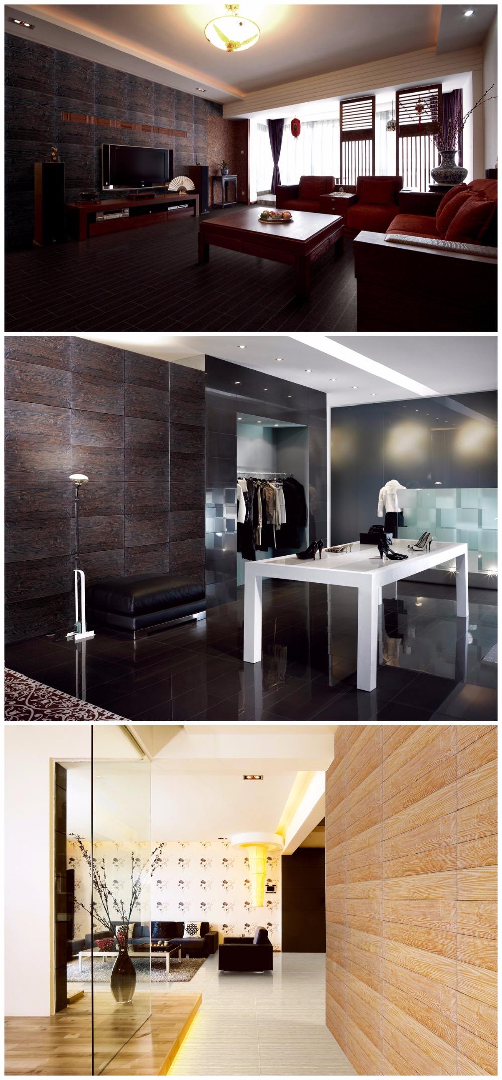 Modern Wood Wall Panels/ Exterior Wood Wall Panels/ Cheap Wood ...