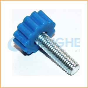 Custom high quality knurled plastic knobs/handles