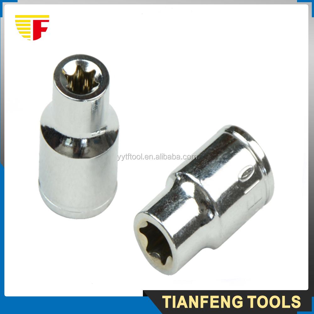 Automotive Tools Power Bit Set Hex Star Torx Socket - Buy Chrome Vanadium  Socket Set,Box Spanner Socket Set,Professional Socket Set Product on