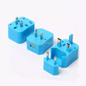 International travel USB charger AU UK US EU plugs universal outlet DC adapter for worldwide can be used over 150 countries