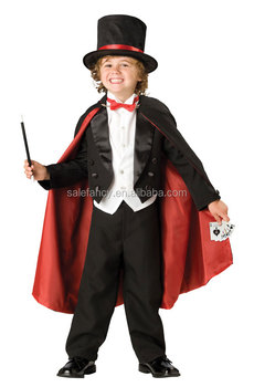 Childrens Magician Fancy Dress Costume for Kids Boys Party Costume QBC-2176  sc 1 st  Alibaba & Childrens Magician Fancy Dress Costume For Kids Boys Party Costume ...