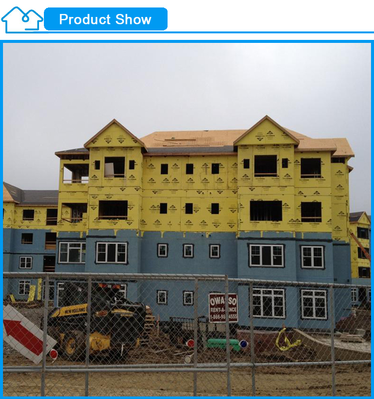 anti seismic muti storey china supplier low cost light gauge steel framing prefab building