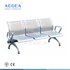 AG-TWC004 cold rolling steel plate waiting room chair hospital benches