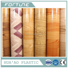PVC WOOD ROLL PLASTIC PRODUCTS USED FOR DECORATIVE INDOOR