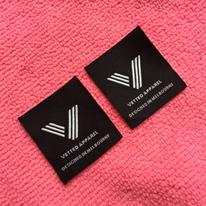 top sewing fabric clothing label,brand logo clothing tag for apparel