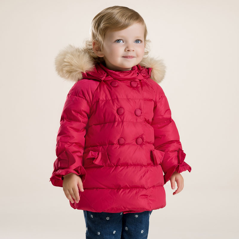 ccadab6e860c Db2745 Dave Bella 2015 Winter Infant Coat Baby Padded Jacket Girls Padded  Coat Girls Down Coat Down Jacket - Buy Baby Girl Down Jacket