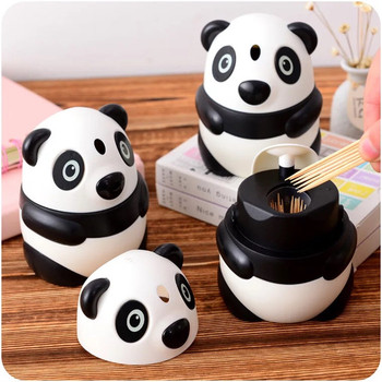High quality new design plastic cartoon toothpick Holder Pick