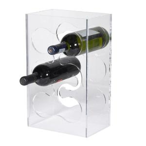 Custom made acrylic wine display rack/plexiglass alcohol/liquor display stand