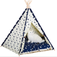 Hot Sale High Quality Wood Outdoor Washable Portable Pet Dog Fabric Teepee Tents/Cat Teepee